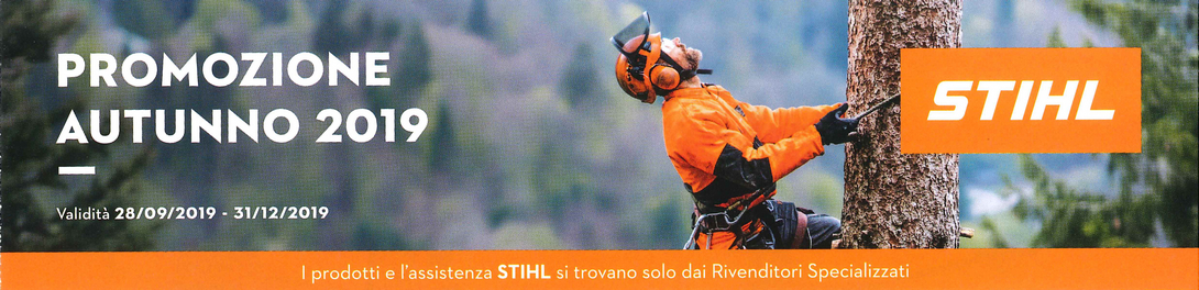 Stihl Promotion Herbst 2019