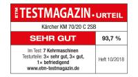 Spazzatrice manuale compatta Kärcher KM 70/20 C 2SP