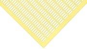 Frankenbeute Kunststoff Rundgitter 500 x 425 mm, gelb