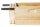 Wabenhalter, Edelstahl, für 25 mm Holzstärke, Preis pro Paar