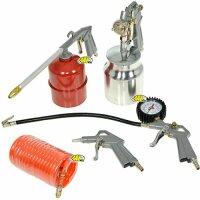 Compressore Abac Pole Position L20 + Set accessori 5