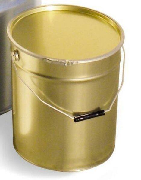 Latta a secchiello, metall., capacità 25kg