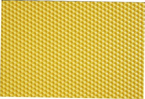 Gegossene Mittelwand 410x130mm für Dadant Honigwaben (E/kg)