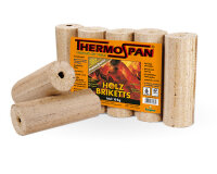 Holzbriketts Thermospan in Folie