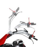 Motocoltivatore Nibbi FC 130 con barra falciante mulching
