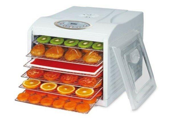 Essiccatore Frutty con termostato e timer