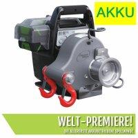 Vericello Portable Winch PCW 3000 Li - senza batteria e...