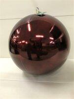 Sfera in plastica rosso scuro 250 mm oppure 300 mm