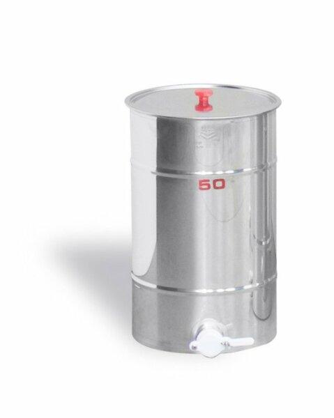 Inox Lagerkübel 50 kg