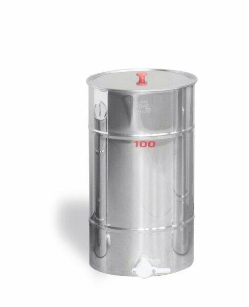 Inox Lagerkübel 100 kg
