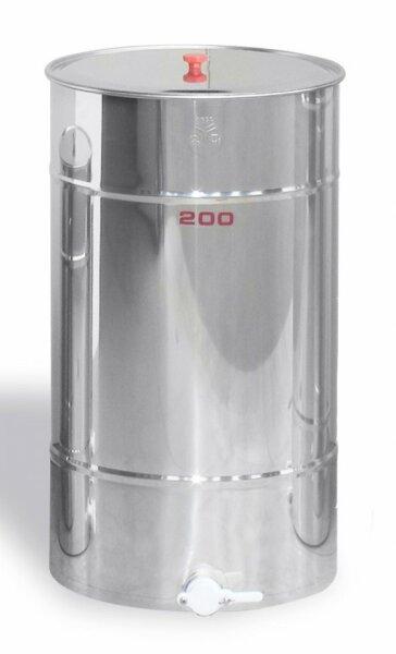Maturatore 200 kg, inox, rubinetto in plastica alimentare