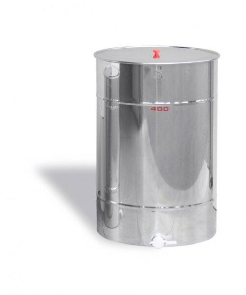 Maturatore 400 kg, inox, rubinetto in plastica alimentare